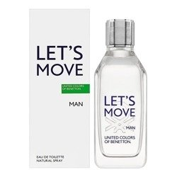 United Colors Of Benetton Let's Move For Man 100ml woda toaletowa [M]